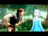 La Da Dee Mep Part Flynn and Elsa