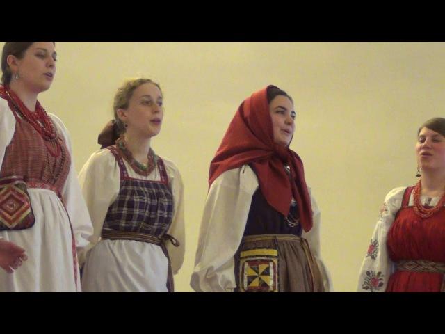 В реченьку ходить, молодчика любить. Yurkova Alexandra. Perm. Tradition. Folklore. дәстүр.