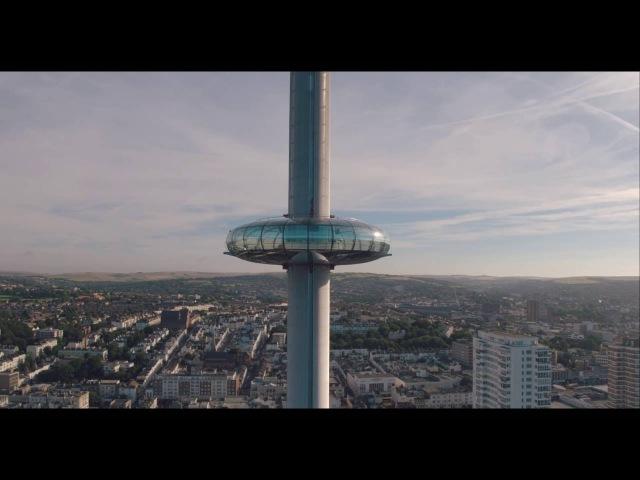 Смотровая Башня i360 в Англии – ТОНКАЯ И ВЫСОКАЯ
