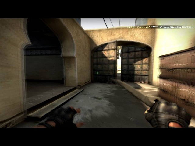 FACEIT:Nightfall vs TEAM_ROMKIZH with AK-47 and AWP