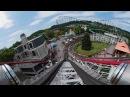 Kennywood Thunderbolt 360 POV video