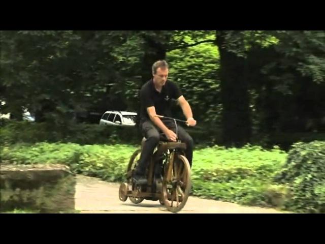Daimler Reitwagen 1885 - мотоцикл Даймлера (Barnaul22)