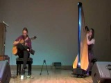 Guitar and Harp - Mike Dawes amp Amy Turk - Live at Bath International Guitar Festival 2009