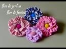 Transfome FUXICOS em lindas flores DIY flower fabric