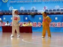 И ЦЗИНЬ ЦЗИН. Wang Jing 王京 Yi Jin Jing Performance on The Health Qigong International Competition