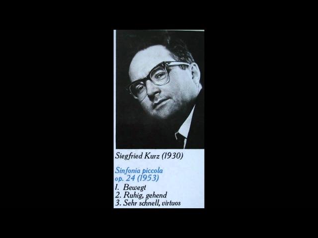 Siegfried Kurz Sinfonia piccola 1953