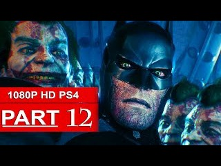 Batman Arkham Knight Gameplay Walkthrough Part 12 [1080p HD PS4] Scarecrow - No Commentary