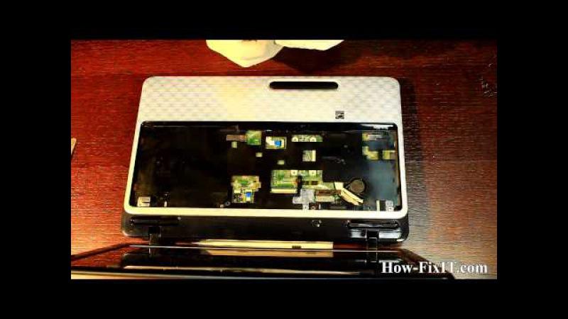 Toshiba Satellite L750 (L750D, L755, L755D) assembling, сборка ноутбука