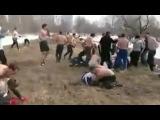 СС Русские CC против Дагестанских бойцов 20 на 20 Русские СС Выиграли Уличная драк...