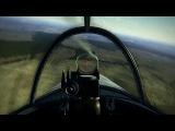 Ил-2 Штурмовик Битва за Сталинград - LaGG-3 vs Bf109 F-4. Зазевался!