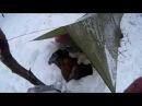 Как просто переночевать в мороз в тепле ч 1 Тепловой аккумулятор и спальник корыто