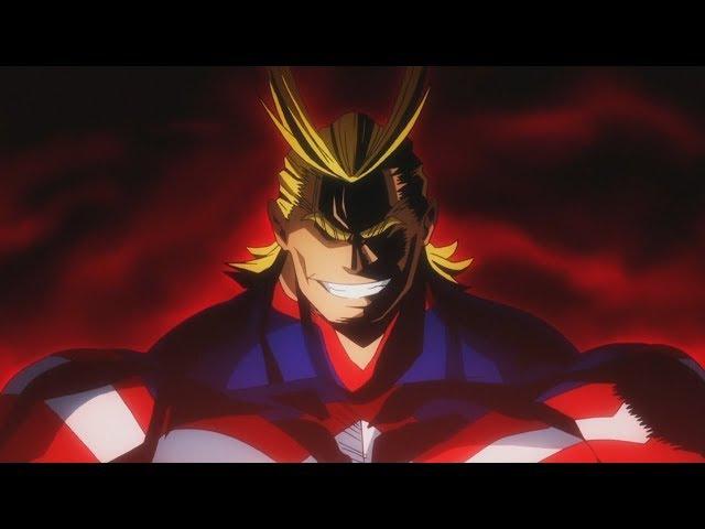 All Might vs Midoriya and Bakugo - Full Fight HD | Boku no Hero Academia