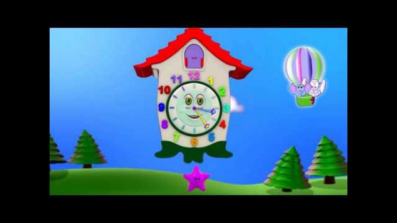 Изучаем время Развивающий мультфильм для детей