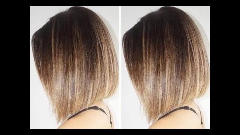 How-To: Classic Bob Haircuts step by step tutorial - Layered bob haircut - Hairbrained