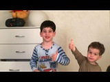 Оригинальное исполнение песни «Вите надо выйти» от сыновей Юлии и Тиграна Салибековых