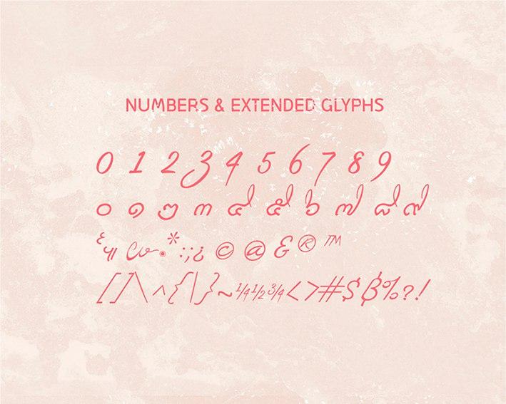 Download Mi Teiyng Script font (typeface)