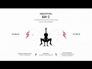 18 и 19 мая — Би-2 с симфоническим оркестром в Москве