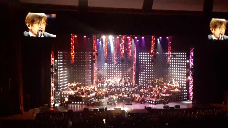 Би 2 Дурочка с оркестром Москва 24 03 17