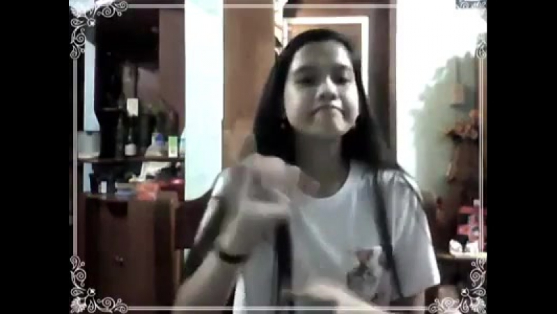 Deaf girl pretty young part 6 six - Filipino sign language Philippine