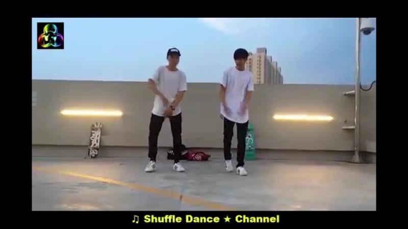 Shuffle dance @1 - Nhảy shuffle Dance cùng soái ca.mp4
