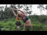 Вечерний комплекс Приветствие Луне (Чандра Намаскар) _ Йога для начинающих с Катериной Буйда - YouTube (360p)