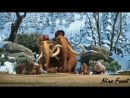 Моменты из мультфильма Ледниковый период