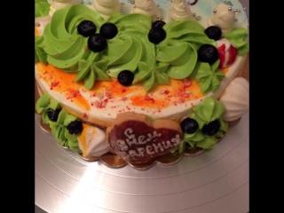 Двойной тортик сразу на 2 случая🍾🎄🎁 в жизни!!