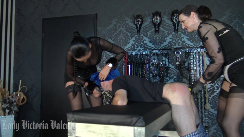 Double domination Strap-On game with Madame Catarina Part 2