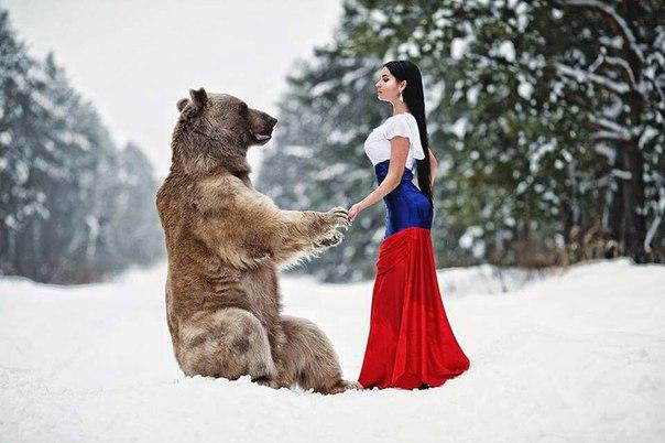 Российский фотограф Никита Мамонтов сделал оригинальную фотосессию,