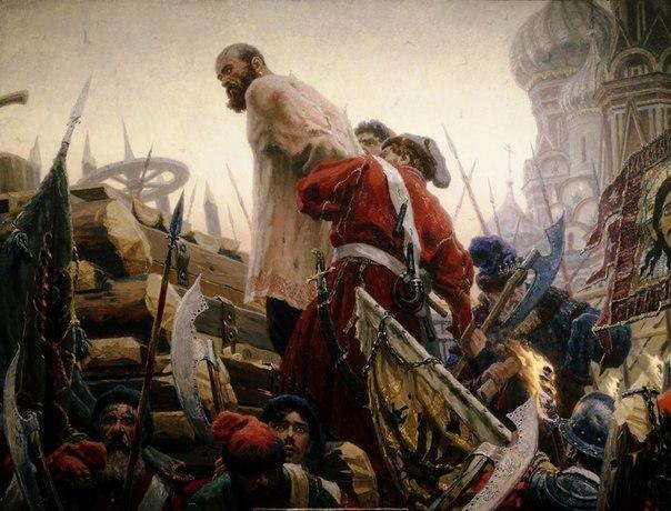Смертная казнь в Древней Руси.