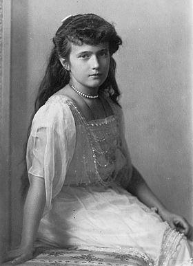 Анастасия Николаевна — великая княжна, четвёртая дочь императора Николая II и Александры Фёдоровны