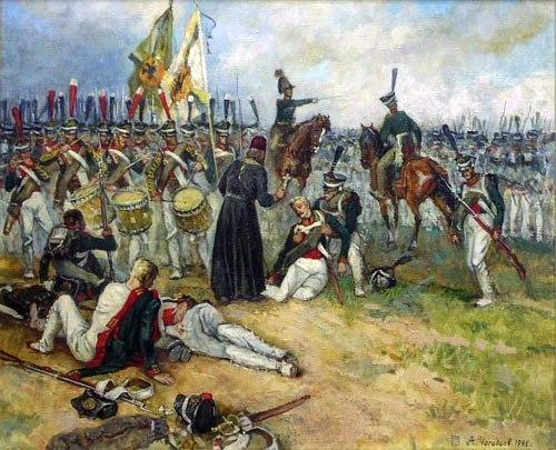 Отуц Василий Васильковский на войне 1812 года