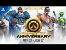 Welcome to the Overwatch Anniversary! | PS4