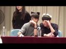 [161023] Юто и Кино @ Seoul Metro Fansign