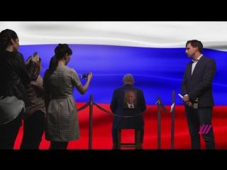 Первая пресс-конференция кандидата в президенты Семенова