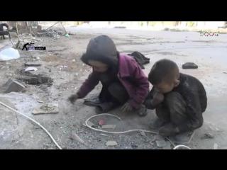 Сирия - девочка рассказывает о голоде в Дамаске