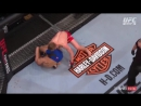 UFC Fight Night - 107 хайлайт ALLEN vs AMIRKHANI второй раунд