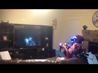 Виртуальная реальность подходит для всех возрастов!