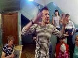 Жители аварийного барака записали рэп к прямой линии с Путиным