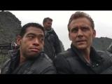 Kong Skull Island, Tom Hiddleston and Eugene Cordero
