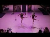 pole dance duet artistic Недоступова О. и Журавлева Т- 2 место профи Catwalk 16.04.17