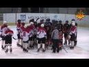 Мощная драка в хоккее