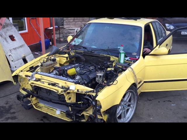 BMW M5 e34 s62 first start