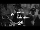 Joris Voorn B2B Kölsch @ Awakenings 20 (BE-