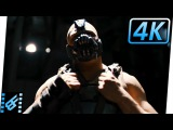 Batman vs Bane Sewer Fight The Dark Knight Rises (2012) Movie Clip