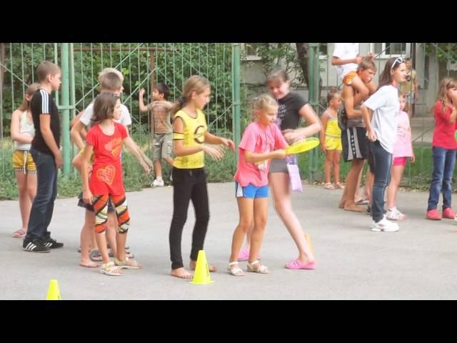 Игровая конкурсная программа «Палитра лета» - Дворец молодёжи - июль 2013