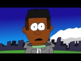 Kendrick Lamar - m.A.A.d city (Animated Music Video)