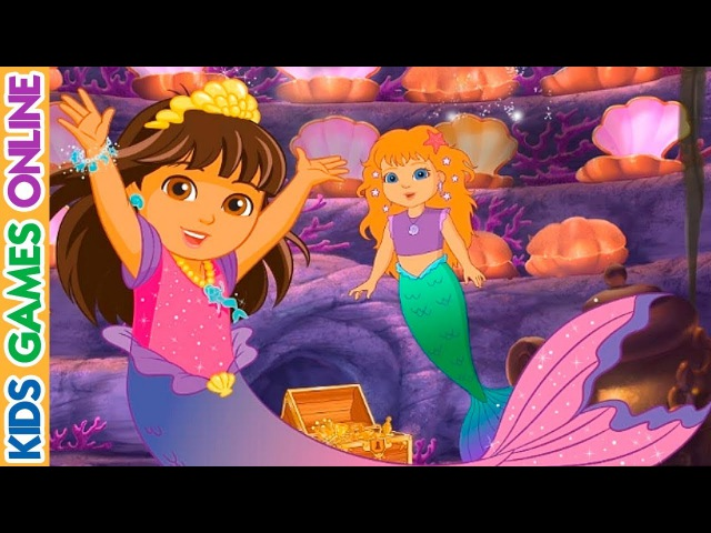 Dora and Friends Magical Mermaid Adventure Kids Games Online