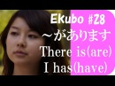 「~があります I have something」 Ekubo Basic Japanese lesson #28 日本語の森 JLPT N5