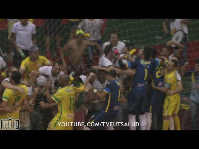 QUARTAS Gols Marechal Rondon 1(1)(6x5)(1)4 Floripa - Quartas de Final Jogo 2 LNF 2016 (06112016)